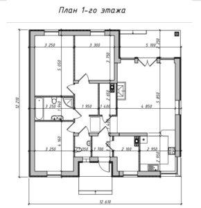 Дом на 110 м2