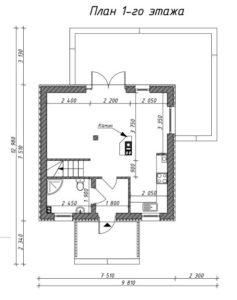 дом на 78м2
