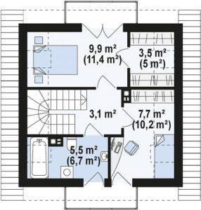 Дом на 78 м2