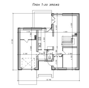 Дом на 137 м2 с гаражом
