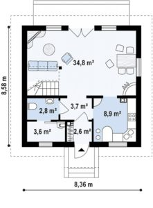 Дом на 97 м2